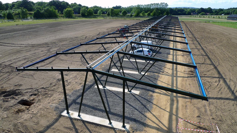 Glider hanger